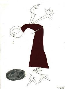 Silke Mansholt Woman Red
